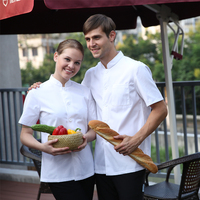 Work Clothing Wholesale Hotel Quality Uniformes De Chef White Long Sleeve Chefs Uniform Workwear For Women