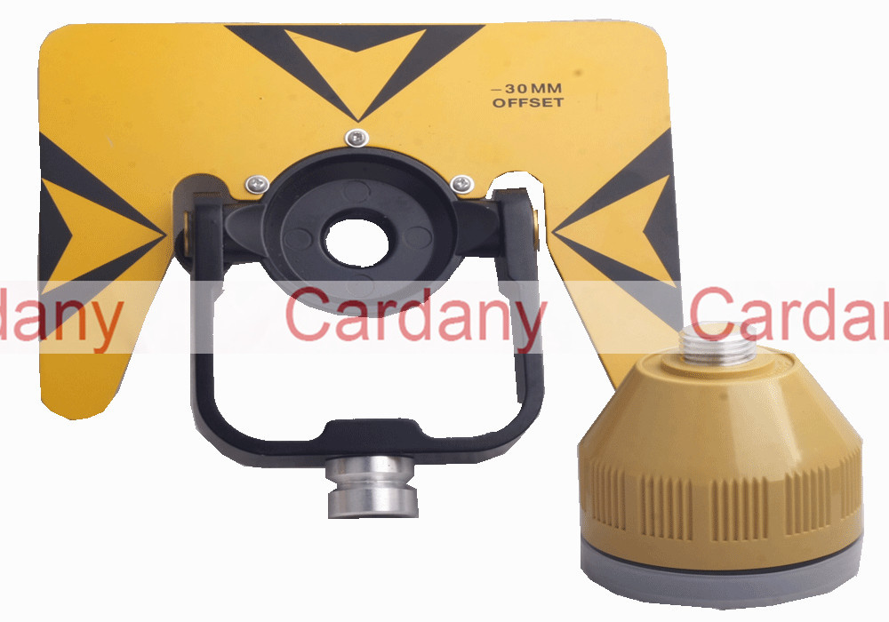 Yellow Single Prism W Bag FOR TOPCON SOKKIA NIKON Total Stations brand new nikon single prism prisms for nikon total station stations