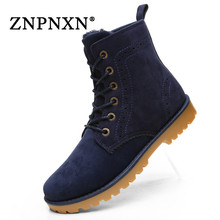 2016 New Women&Men Winter Boots Men Fur Snow Boots Women Winter Shoes Leather Ankle Boots For Men Botas Mujer Zapatos Hombre