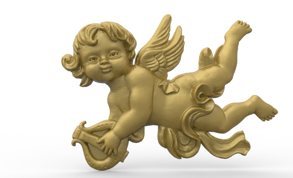 Angel 3D Model Relief STL Model For CNC Router Carving Engraving Artcam Type3 Aspire M363