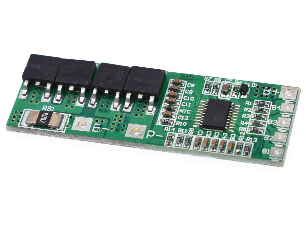 <font><b>5S</b></font> 18.5V 21V 10A high current Li-ion Lithium Battery BMS <font><b>18650</b></font> Charger <font><b>Protection</b></font> Board image