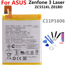купить C11P1606 battery FOR Asus Zenfone 3 Laser ZC551KL Z01BD 3000mAh lithium battery li-ion polymer battery High capacit по цене 760.08 рублей