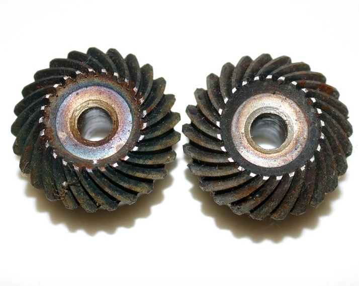 2Pieces Lot 3M 25 25T 1 1 Precision Helical Spiral Bevel Gear Diameter 79mm