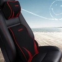 ICAROOM Space Memory Foam Filler Waist Cushion Car Lumbar Spine Cushion for Health Comfortable Car Driving