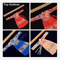3 Colors Red Yellow Blue 1 6 Scale Ming Dynasty Fly Fish Clothes Male Soldier Ancient