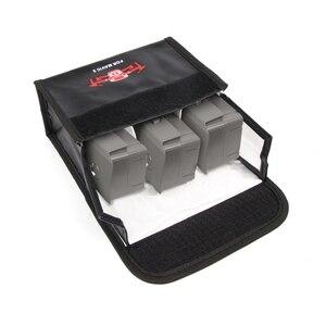 Image 5 - Sunnylife Bolsa de seguridad LiPo a prueba de explosiones, bolsa de almacenamiento protectora de batería para Dron DJI MAVIC 2 PRO y ZOOM