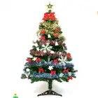 Рождественская елка детский фестиваль DIY рождественская елка 150 см (5 футов) с декоративной