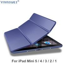 For iPad Mini 2019 Case Soft Tpu Back Shell 4 Funda Cover ipad mini 1 2 3 5 Flip Cases