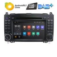 Android8.1 автомобильный DVD gps для Мерседес Бенц Спринтер B200 W209 W169 W169 B-class W245 B170 Вито W639 DVD плеер 2 грамм 4 GWIFI BT карта