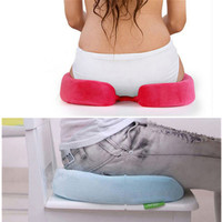 HOT Sale Fashion Memory Foam Back Ache Pain Office Chair Orthopedic Seat Solution Cushion High Quality