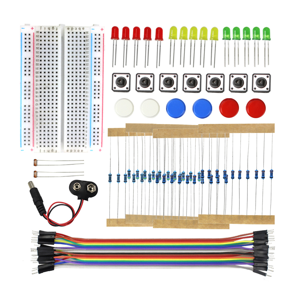 Starter Kit UNO R3 Mini Breadboard LED Jumper Wire Button for arduino Diy Kit