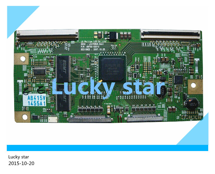 98% new good working High-quality original for board 6870C-0201C LC470WUD-SAA1 T-con logic board цена