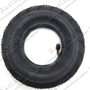 """Image 4 - Electric Scooter Tyre With Wheel Hub 8"""" Scooter 200x50 Tyre Inflation Electric Vehicle Aluminium Alloy Wheel Pneumatic Tire"""
