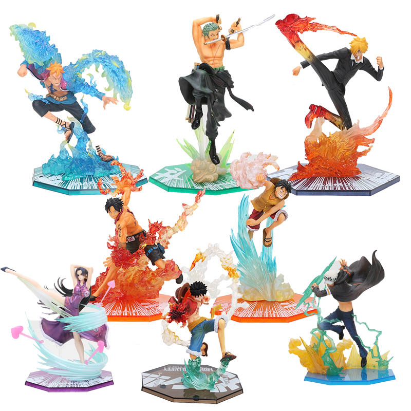 One Piece Zoro cos tiger 15th PVC figure figures statue doll anime gift new