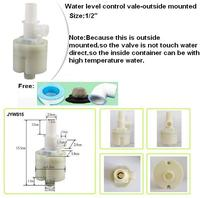 Free Shipping 1 2 Top Inlet Built In Outside Mounted Automatic Float Valve Water Level Control