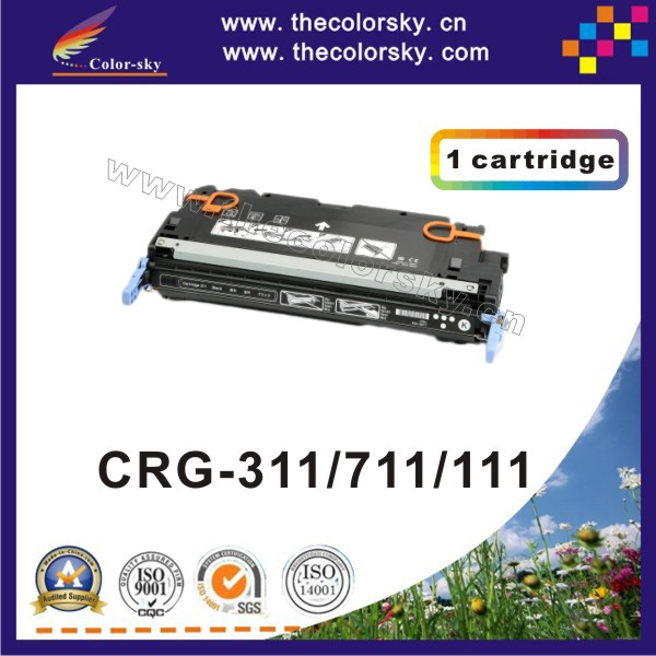 (CS-H7580-7583) compatible toner printer cartridge for Canon CRG-311 CRG-711 CRG-111 CRG 311 711 111 (6k/4k pages) free dhl цена