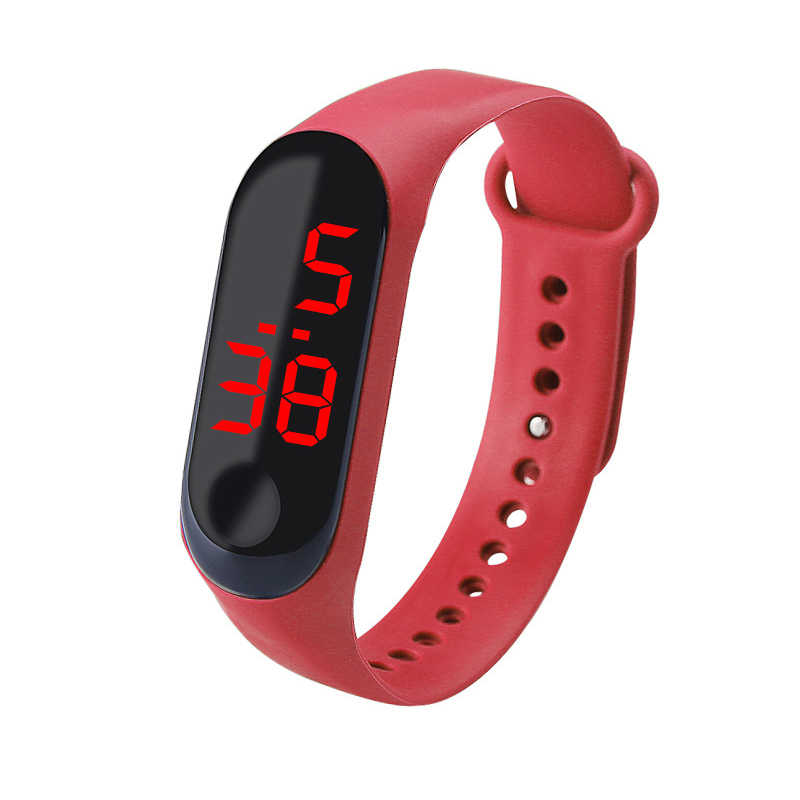 Sport Smart Watch Children Watches Kids For Girls Boys Students Electronic Wristwatch LED Digital Child Wrist Band Smart Clock