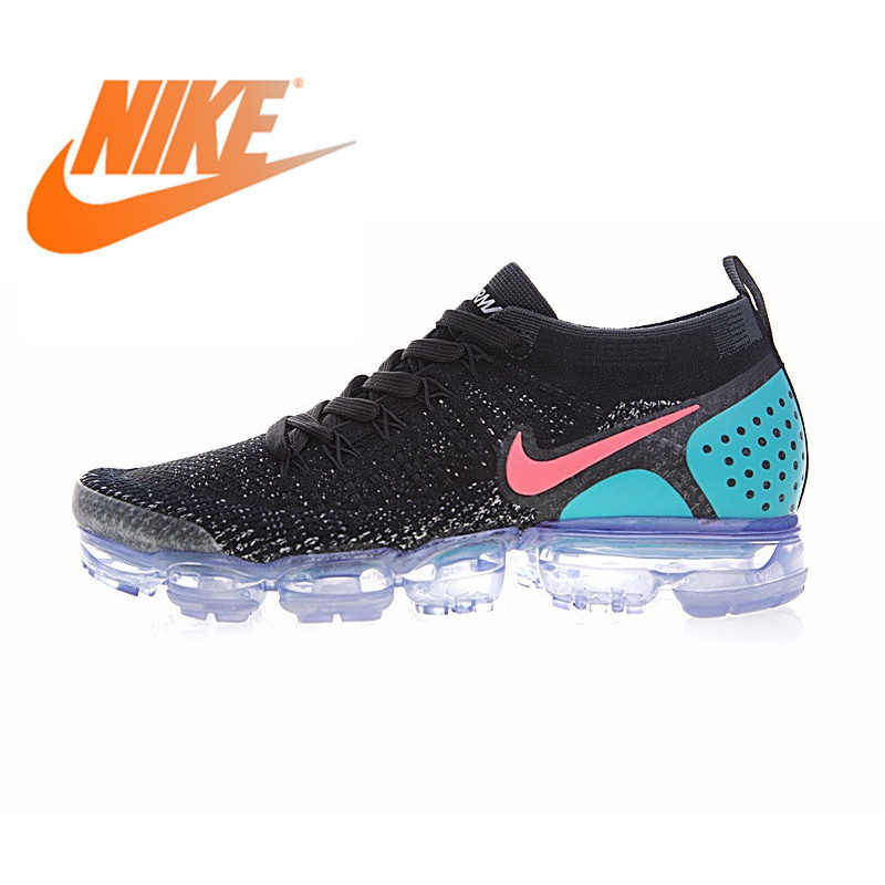 086416e1a7ba8 Original NIKE AIR VAPORMAX FLYKNIT 2.0 Authentic Mens Running Shoes Sport  Outdoor Sneakers Breathable durable Athletic