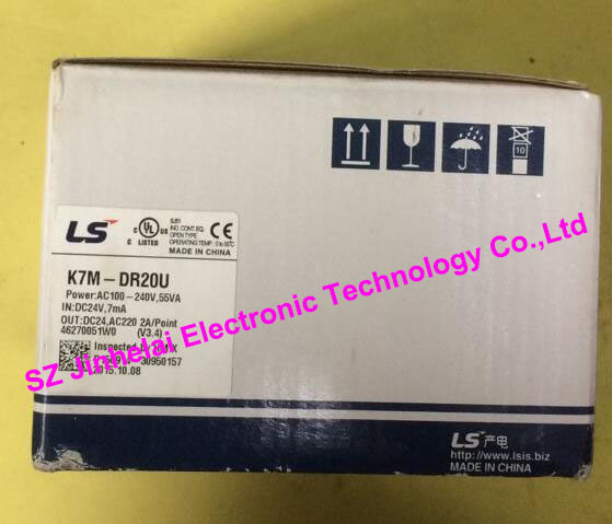 100% New and original  K7M-DR20U  LS(LG)  PLC controller 100% new and original g6i d22a ls lg plc input module
