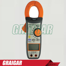 Discount! Digital TRMS AC/DC Clamp Meter TM-2013 ACV, ACA, Resistance, Frequency, Diode, Continuity Tester