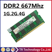 promotion 1gb 2gb 4gb ddr2 667 pc2-5300 sodimm laptop, ddr2 667 2gb pc2-5300S so-dimm notebook, memory ram ddr2 2gb 667mhz dimm(China (Mainland))