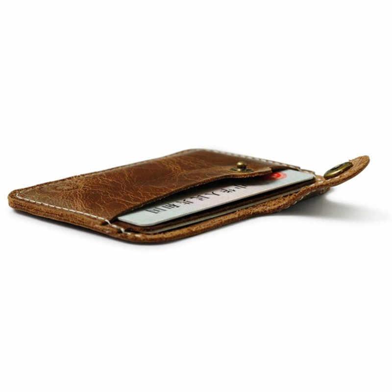 Fashion Money Clip Slim Credit Card ID Holder Wallet Money Cash Holder Solid Male Purses With Designer I Clip Card Cases C047