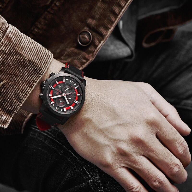 Relogio Masculino PAGANI DESIGN hommes montres haut de gamme de luxe étanche militaire chronographe Quartz montre bracelet horloge noir homme - 6