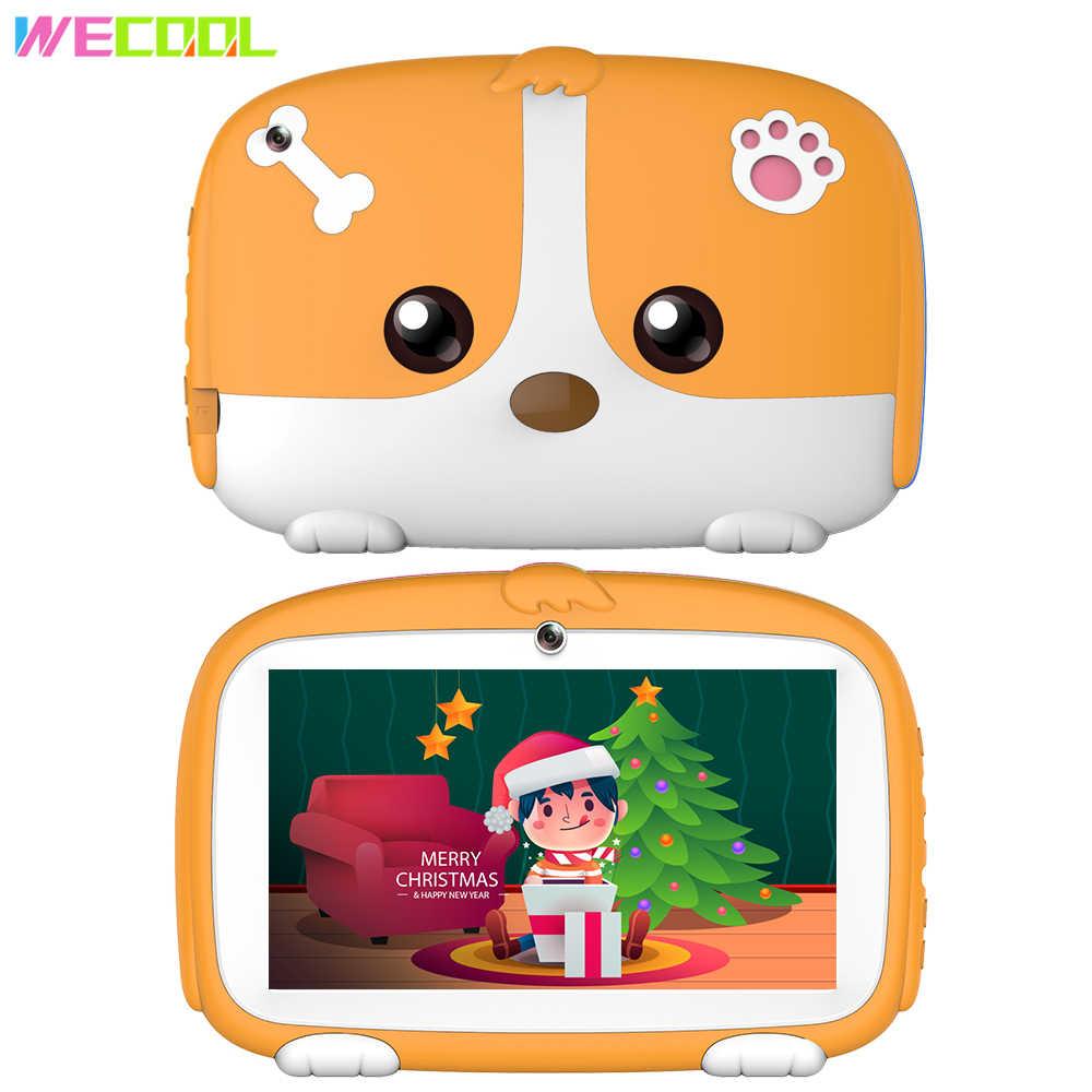 WeCool K7-Plus Kinder Tablet PC 7 zoll Quad Core 1GB + 8GB Kinder Spiele Tablet Kinder Bildung APP entwickelt für Kinder Geburtstag Geschenk