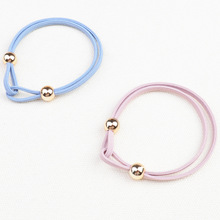 5PCS Girls Elastic Hair Bands Ponytail Holder Rubber Accessories Women Multicolor Band