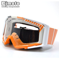 BJMOTO Newest 23 Colors Lunettes Protection Off Road Motocross Goggles Motorcycle Glasses For Dirt Bike RC