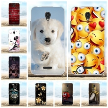For Lenovo A Plus Cover Ultra Slim Soft Silicone TPU A1010a20 Case Flowers Patterned A2016a40 Shell Bag