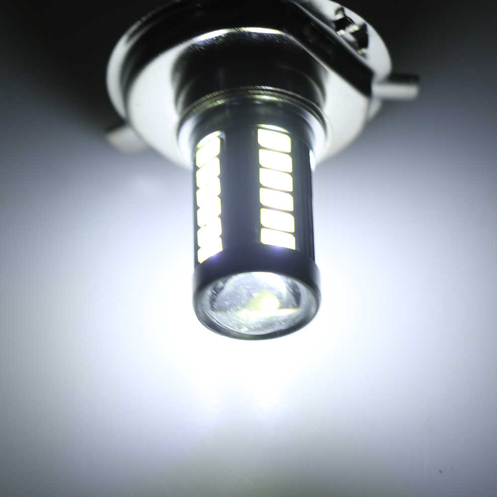 12 V H4 33LED SMD 5630 LED Hi/Lo לבן אוטומטי רכב ערפל אור נהיגה אור פנס מנורה