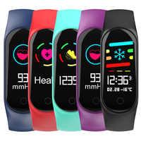 Waterproof Pedometer Smart Blood Pressure Monitor Heart Rate Fitness Tracker Pedometer Running Step Counter Wrist Watch