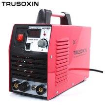 Mini 220 V tragbare IGBT inverter TIG + MMA 2 in 1 DIY schweißmaschine/schweißgeräte/schweißer mit zubehör