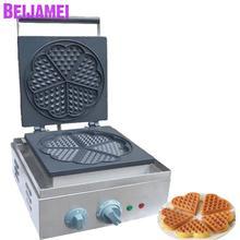 где купить BEIJAMEI Commercial Waffle maker 4pcs Sweet heart type Waffle machine Electric Waffle making machine price дешево