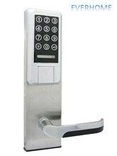Anti theft дверь электронный шифр индукции блокировка карты двери Anti-Theft дверной замок Бесплатная доставка компанией DHL