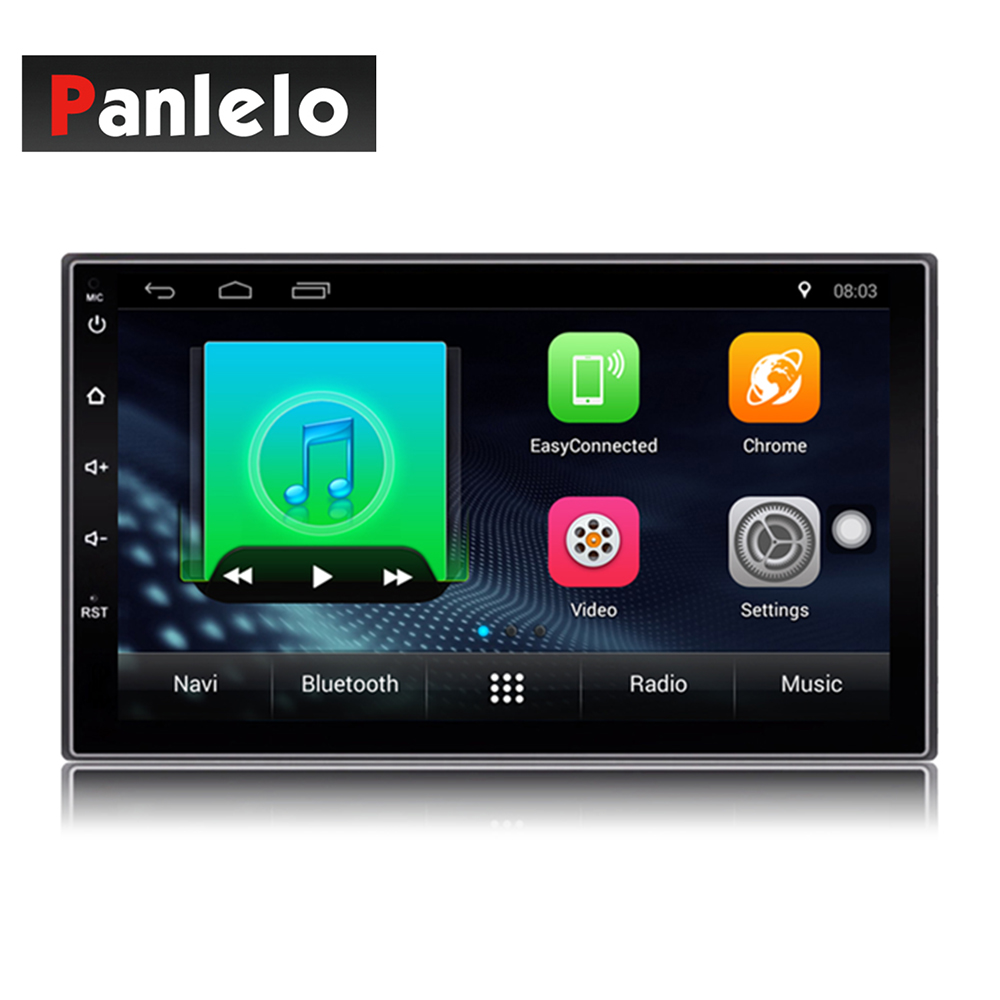 Auto Radio 2 Din Android Car Radio 7 Inch 1024*600 Full HD Touch Screen Car Audio Player GPS Navigation Wifi Bluetooth AM FM ISO
