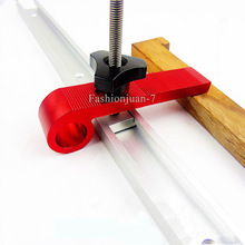 Hotsale 2Sets/4Sets Quick Acting Hold Down Clamps Hold Down Clamping Blocks for Woodworking Tools T-Slot T-Track
