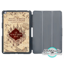 Harry Potter Marauders Map Stand Smart Cover Case For Apple iPad Mini 1 2 3 4 Air Pro 9.7 Wake UP Sleep(China (Mainland))