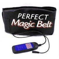 Thermo Heating Sauna Massager Belt Vibration Machine Abdominal Muscle Stimulator Toner Slender Shaper Care Cinto De