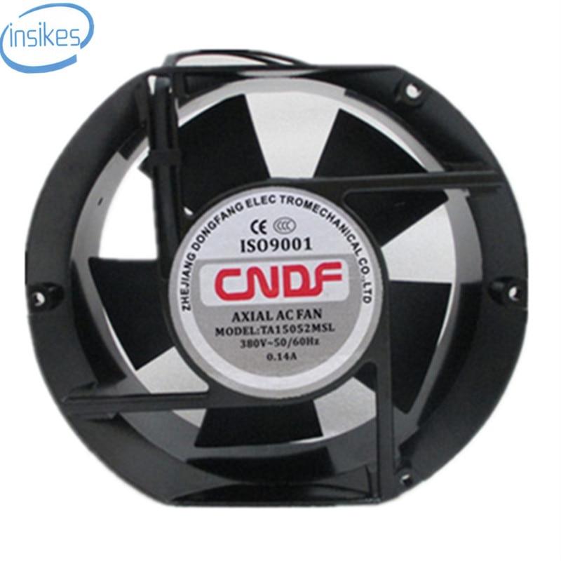 TA15052MSL Axial Industrial Cooling Fan AC 380V 0.14A 17050 170*150*50mm 17CM 2 Wires 50/60HZ new original ka8025ha2 ac 220v 8cm cm axial fan industrial cooling fan