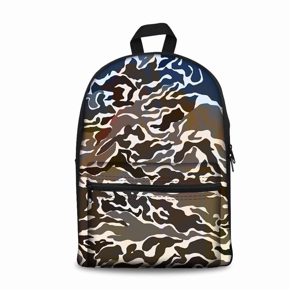 Камуфляжный стиль брендовые школьные сумки для мальчиков и девочек модные