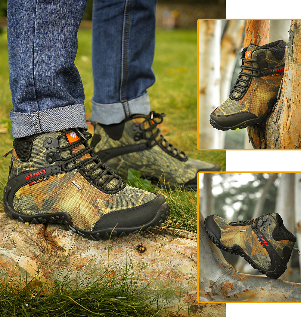 Outdoor Camouflage Tactical Sport Men\`s Shoes (21)