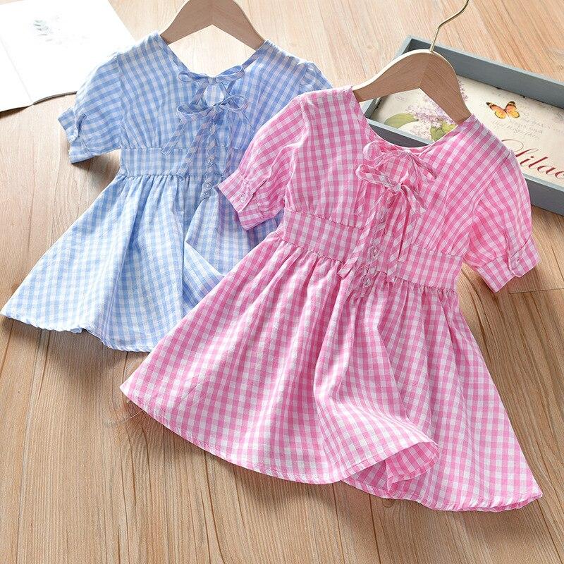Summer Girl Dress Striped Kids Dress Fashion Girls Clothing