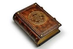 26 × 20x8 cm de estilo Medieval de cuero grande Alchemy libro de cuero cuaderno diario antiguo