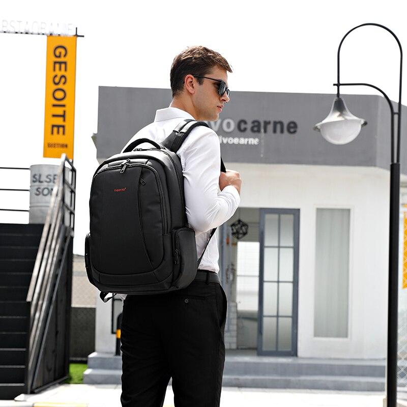 Tigernu Anti Vol Nylon 27L Hommes 15.6 pouces sacs à dos d'ordinateur portable De Mode De L'école Mâle Voyage Mochilas Feminina décontracté cartable des femmes - 6