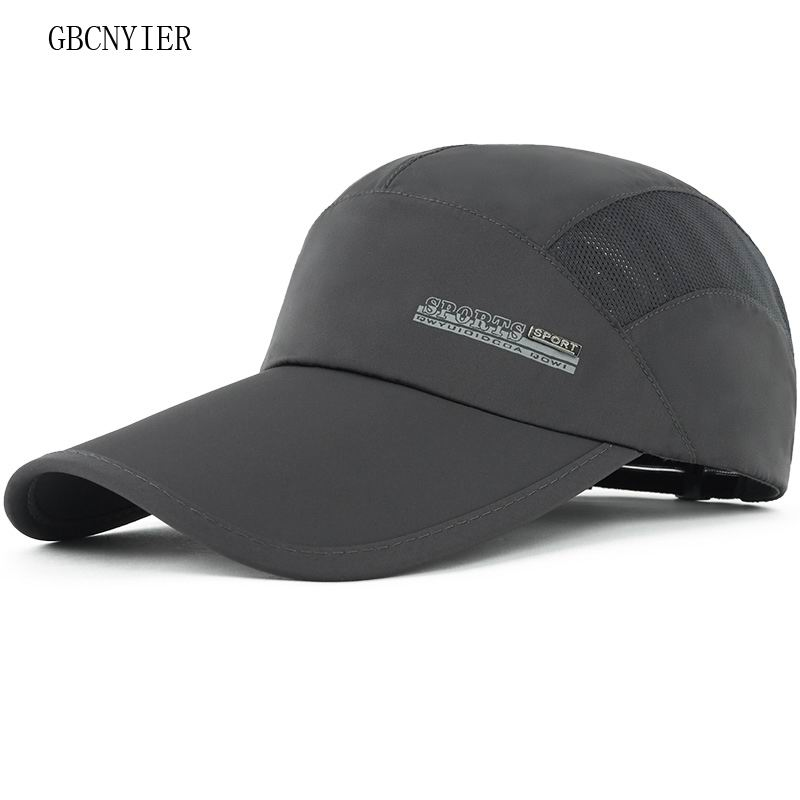GBCNYIER Fashion Casual Male Baseball Cap Outdoor Thin Cotton Run Female Hat Summer Sports Quick Dry Hats Golf Leisure Visor
