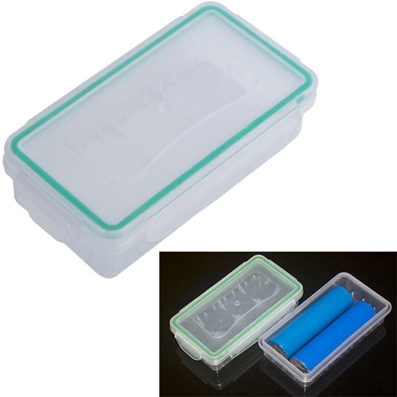 18650 Battery Case Hard Wear-resistant Battery Holder Storage Box Plastic Case Waterproof