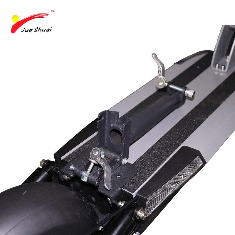 48V 500w longue distance 100km batterie au lithium scooter électrique 10 pouces puissant planche à roulettes électrique patinete electrico adulto LCD - 5
