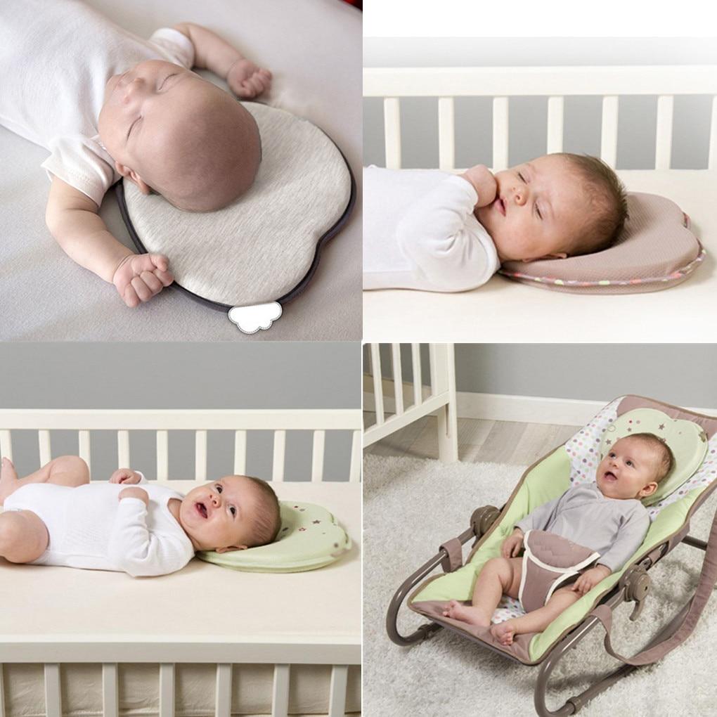 Brand New Baby Correction Pillow Infant Baby Sleep Positioner Children Anti Roll Cushion Pad Newborn Flat Head Pillow